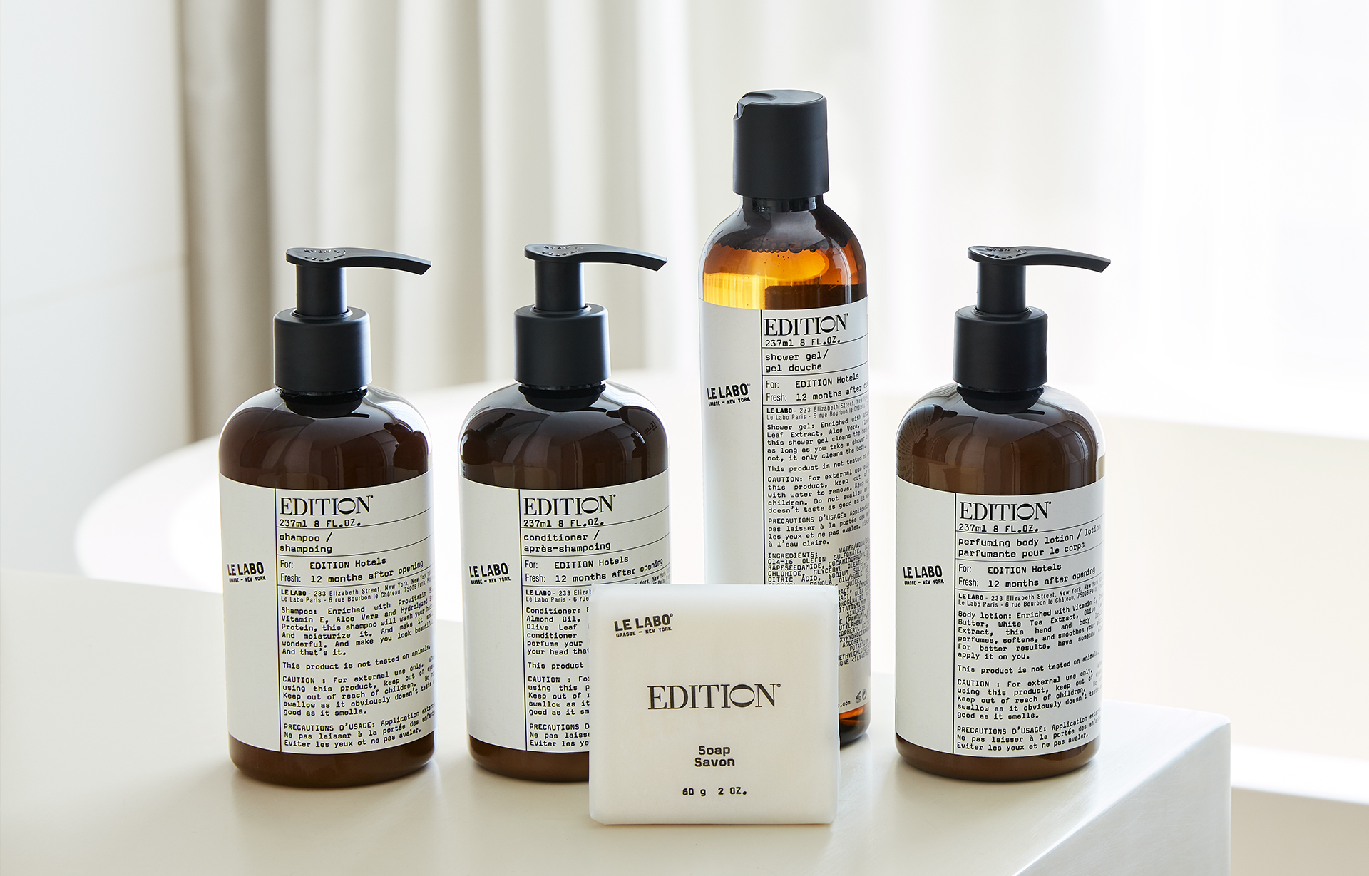 EDITION Le Labo Amenities
