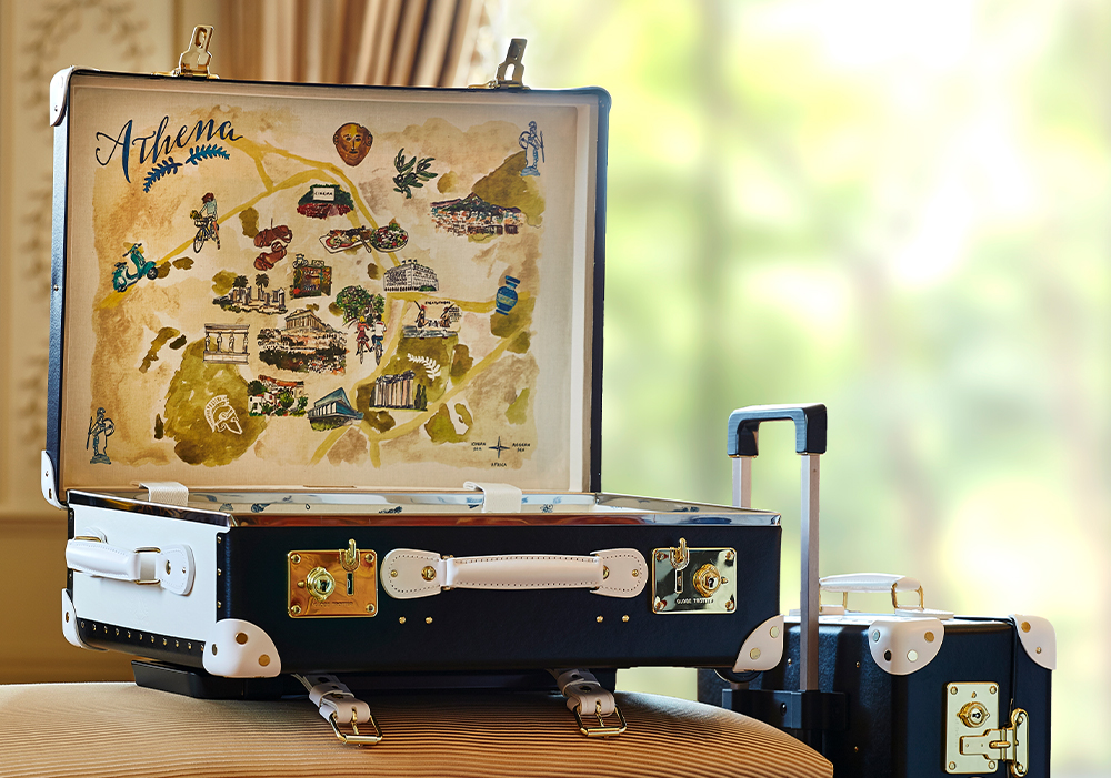 The Luxury Collection Luggage by Globe-Trotter: Athens