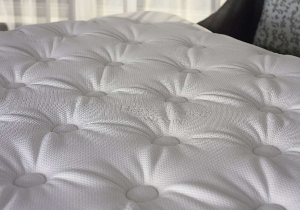 Closeup of the Westin Heavenly Mattress