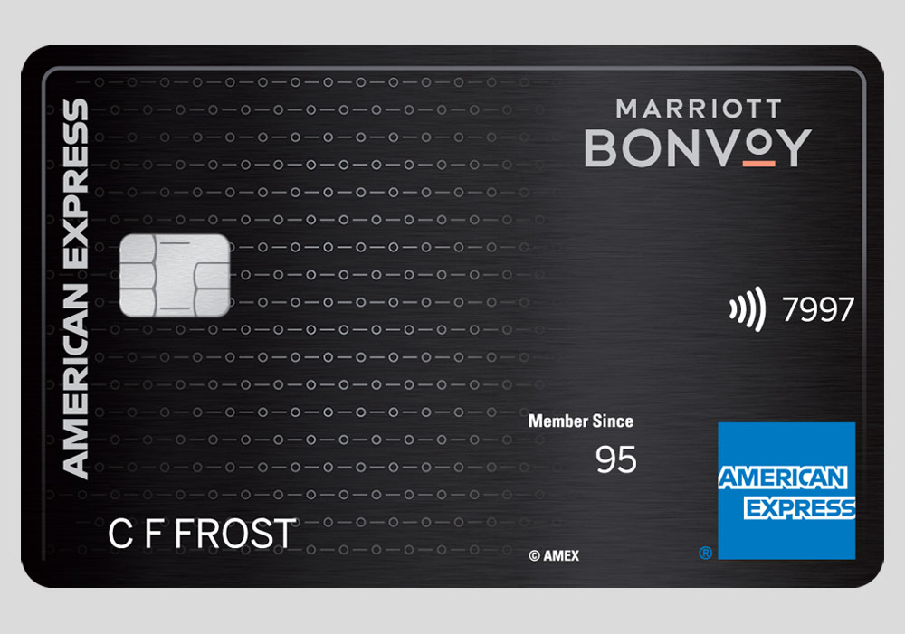 THE MARRIOTT BONVOY BRILLIANT ™ AMERICAN EXPRESS ® CARD