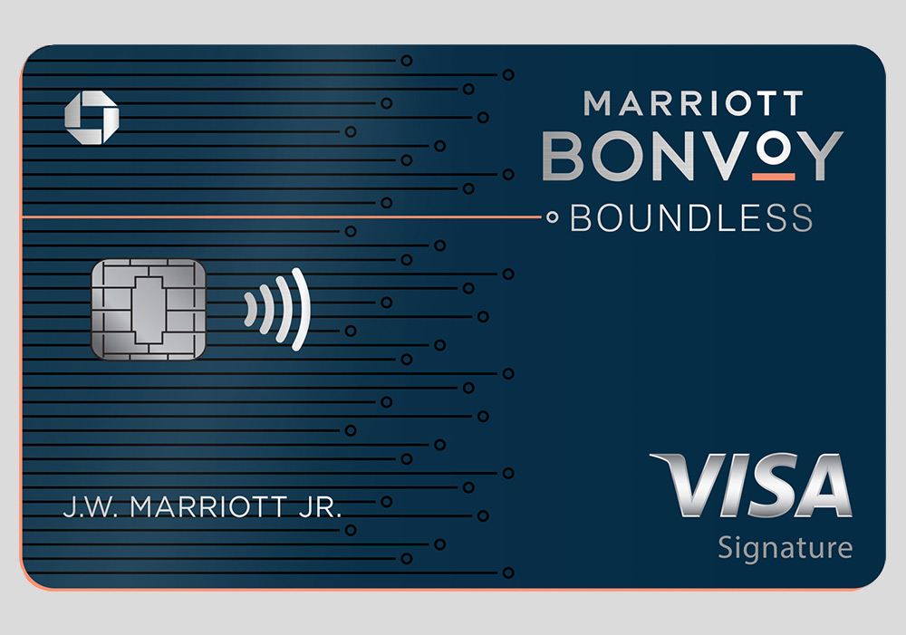 The Marriott Bonvoy Boundless Card